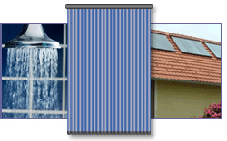 Solar Water Heating Panels: evacuated tube type